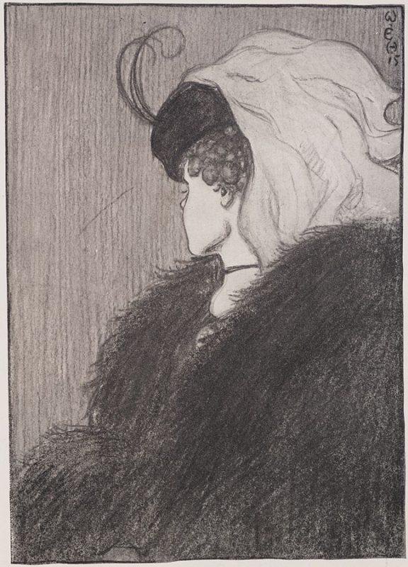 hoe perceptie op de proef wordt gesteld door de schets van meneer W.E. Hill uit 1915 met de title Mijn vrouw en mijn schoonmoerder. Wie zie jij als eerste?r in Law_